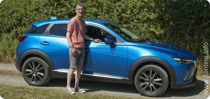 jtonline with his Mazda CX-3