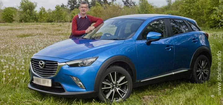 jtonline with his Mazda CX-3