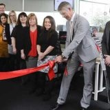 Opening new Mazda UK Customer Relations Centre