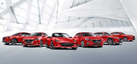 Mazda EU sales growth
