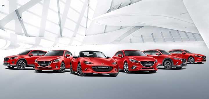 Mazda EU sales growth